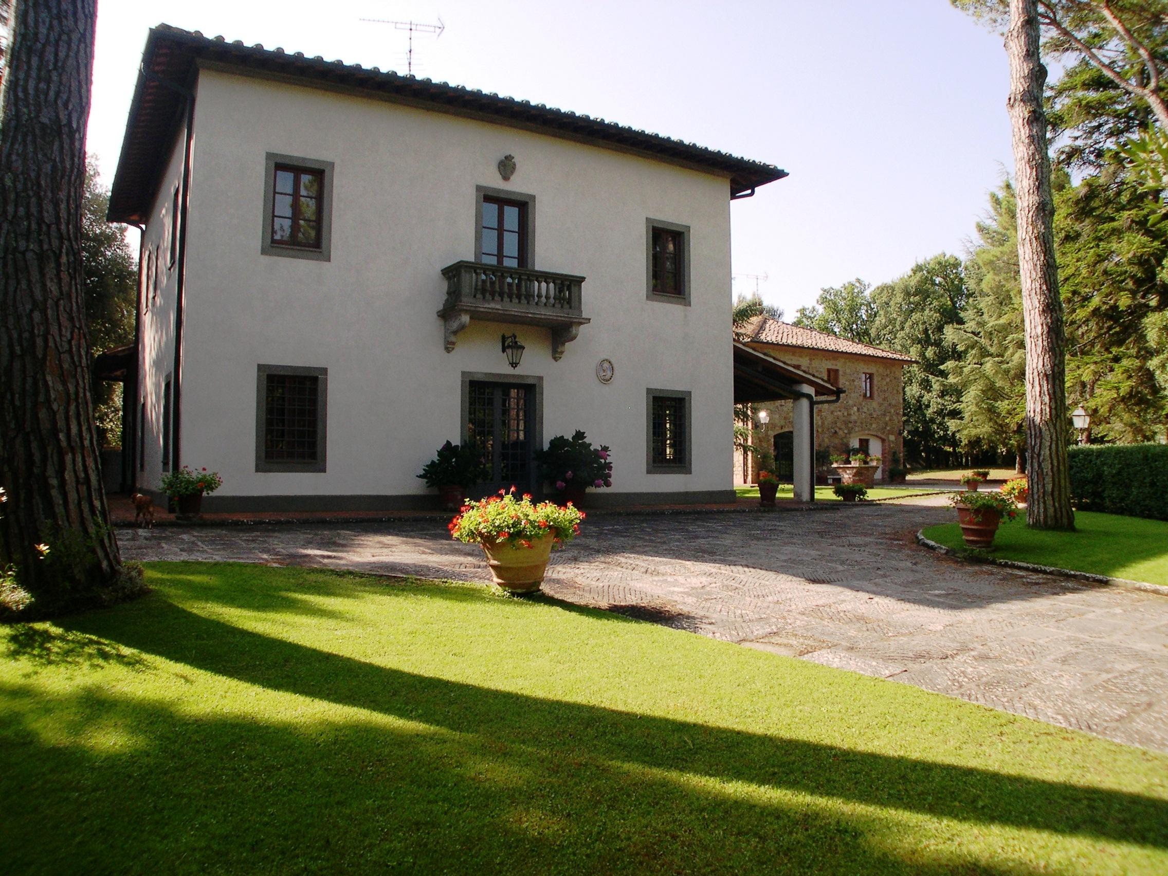 Villa Montignoso Gambassi Terme Tuscany