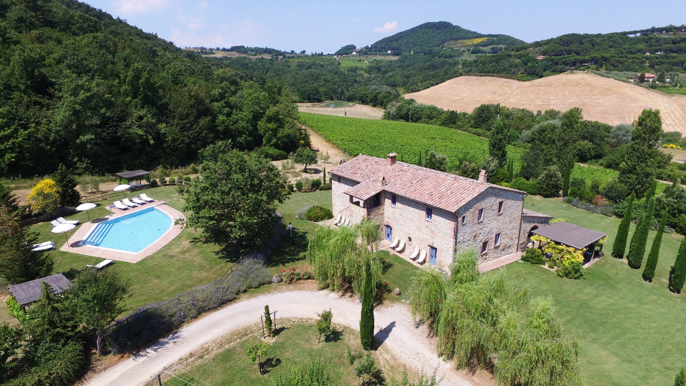 Villa Podere Monti Montepulciano Tuscany
