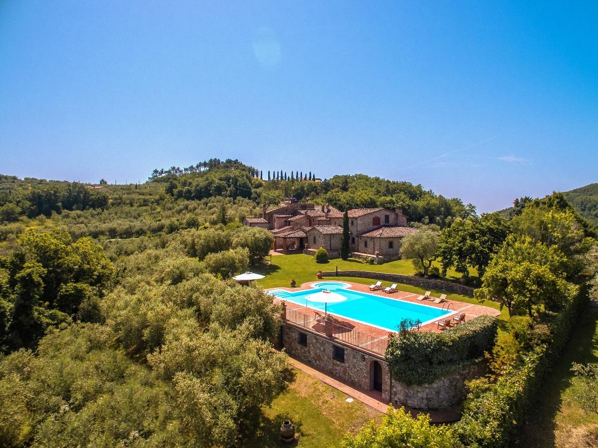 Villa dell'Angelo Monsummano Toscana