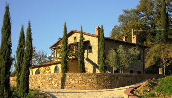 Villa Le Caselle Casentino Toscana